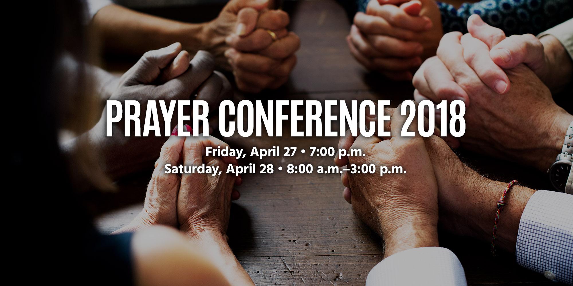 Prayer Conference 2018