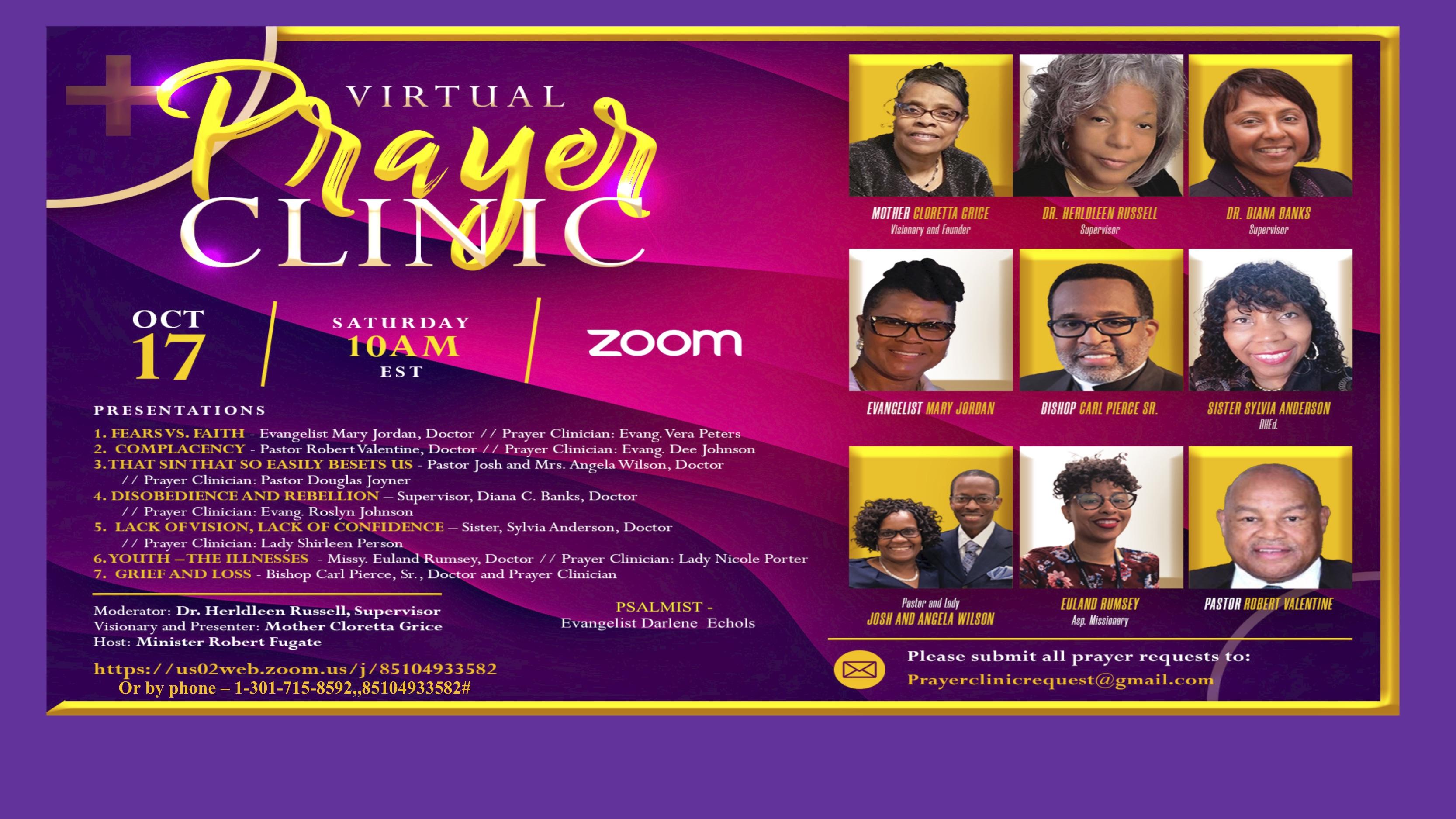 Prayer Clinic